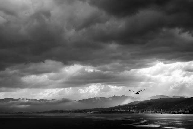 'Esas nubes no me dejan ver el cielo' de Carlos Larios