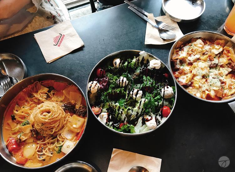 The Rustic Restaurant BOBIRED Hongdae