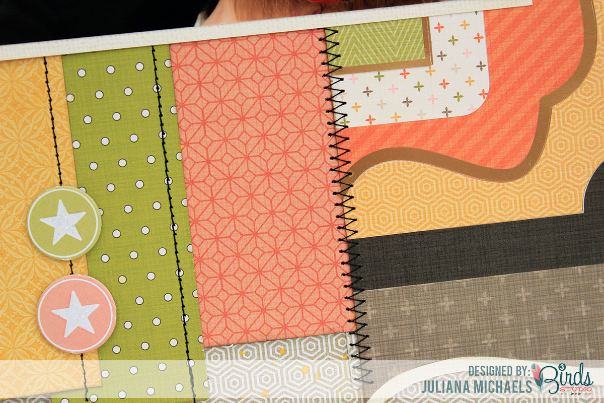 Sneak Peek Scrapbook Page for 3 Birds Studio using Midday Medley