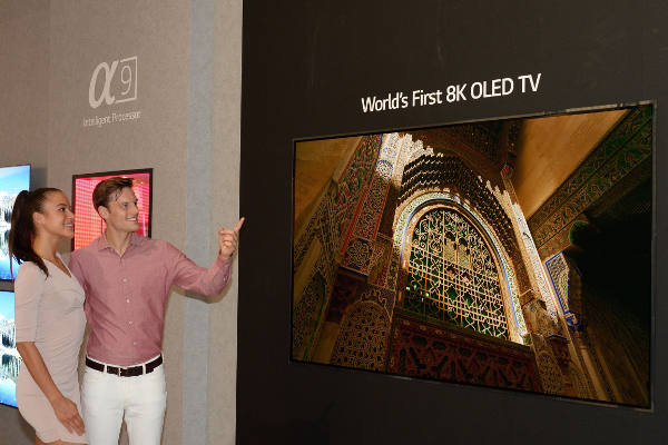 IFA 2018: LG shows off World's first 8K OLED TV