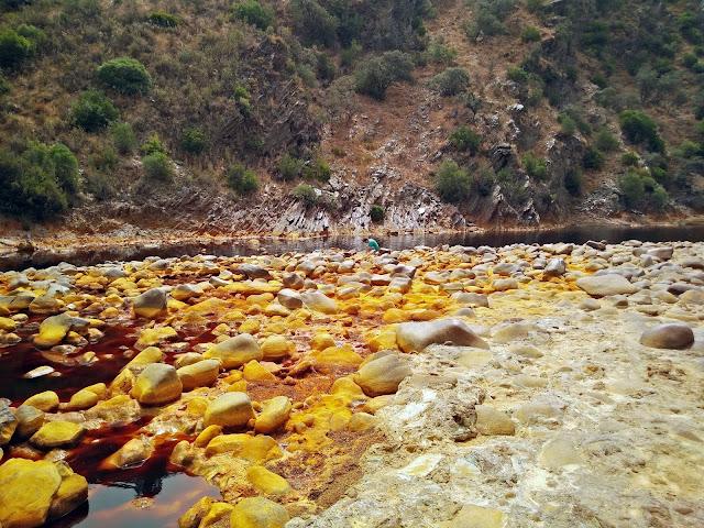 el impresionante Río Tinto