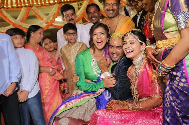 Director Krish-Ramya Wedding Photos