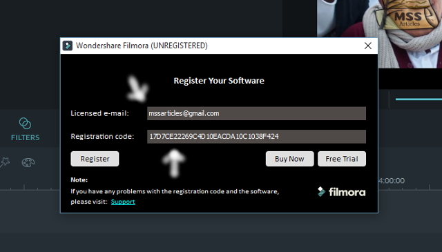 filmora crack registration code 2018