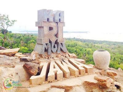 Karimunjawa : Lokasi Bukit Love di Pulau Karimunjawa, Jepara, Jawa Tengah
