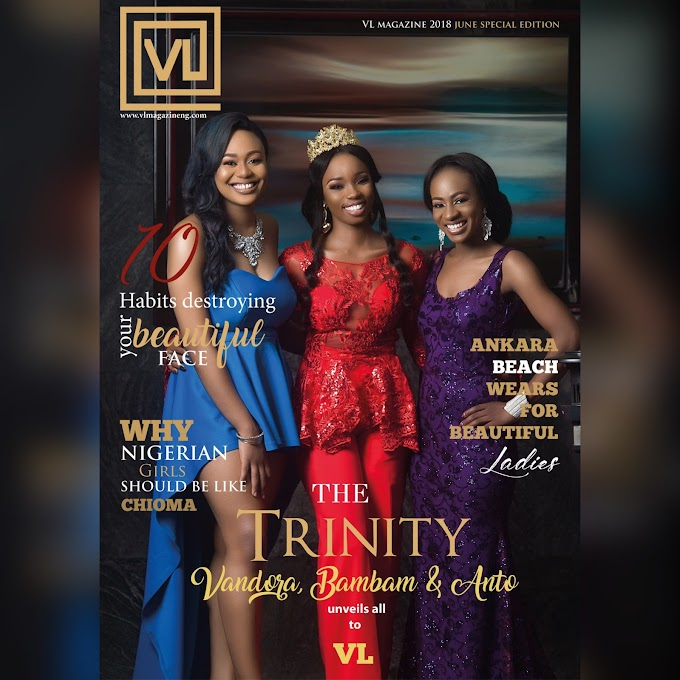 BIG BROTHER Naija Stars Vandora, Anto & Bambam Go Glam For VL Magazine