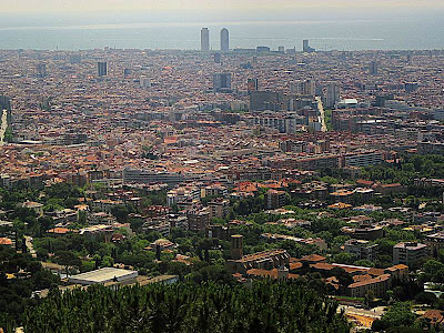 Barcelona from Sant Pere Martir