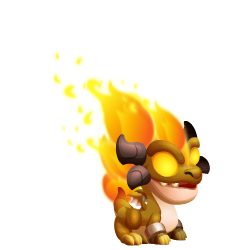 Appearance of Ifrit Dragon when baby