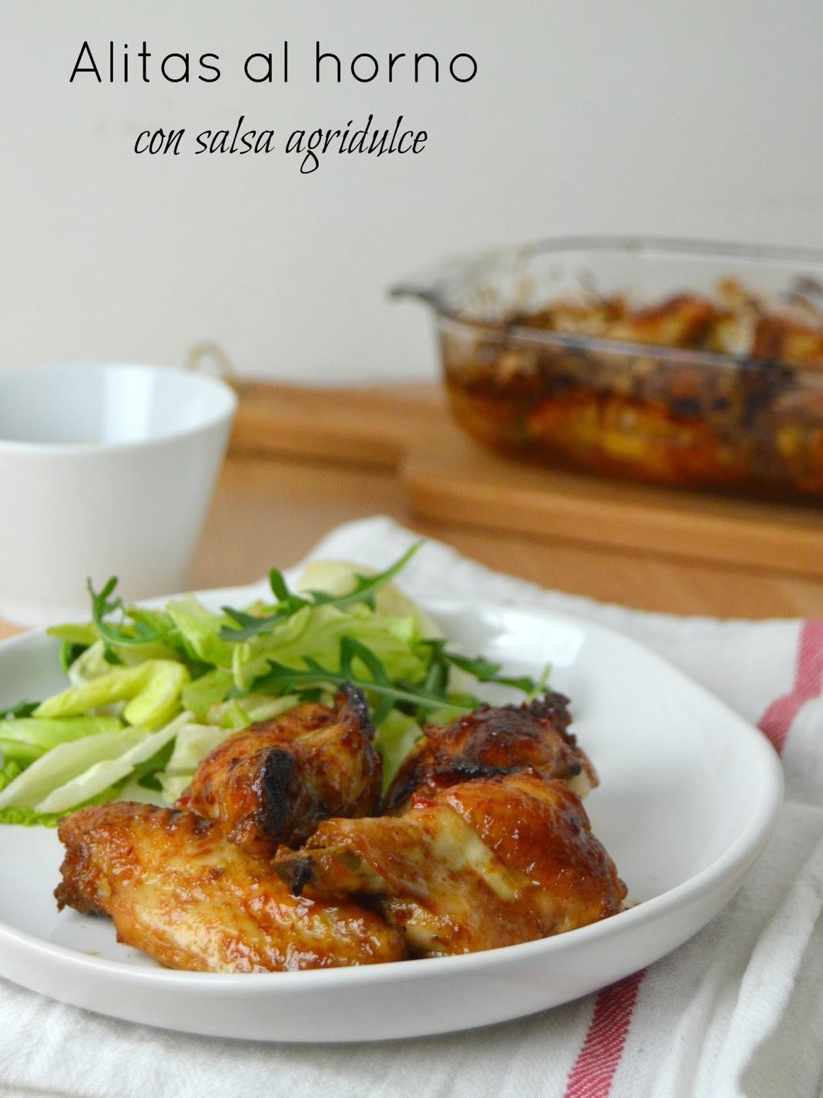 Alitas al horno con salsa agridulce de ketchup heinz - Salsa para verduras al horno ...