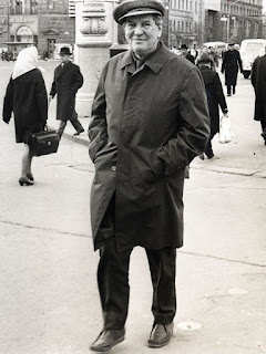 Kim Philby photographed in Moscow post defection