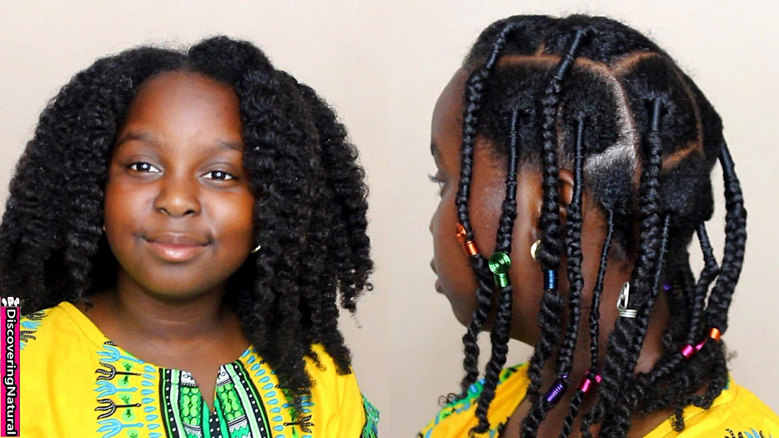 Discoveringnatural African Threading Braids And Twists