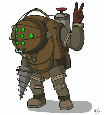 Bioshock - Protecteur par GamyGirl