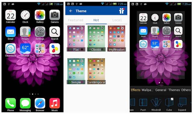 Cara Mengubah Tampilan Android Menjadi iPhone Dengan Mudah