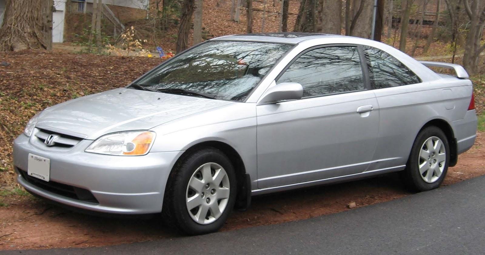 Autos World For All: Honda Civic 2001