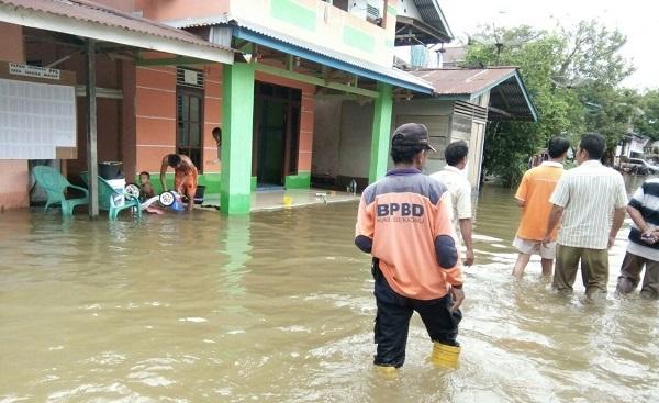 Curah Hujan Tinggi, Nanga Mahap Banjir