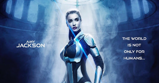 Amy Jackson First Look in 2.0 Upcoming Movie