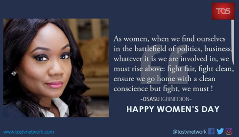 In celebration of International Women's Day.. by Peter Ogbonna