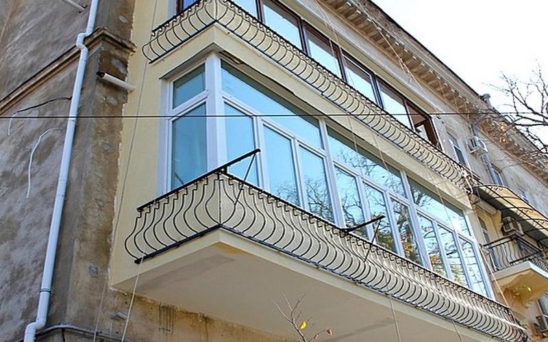 Утепление стен снаружи - балконы, пристройки и флигеля