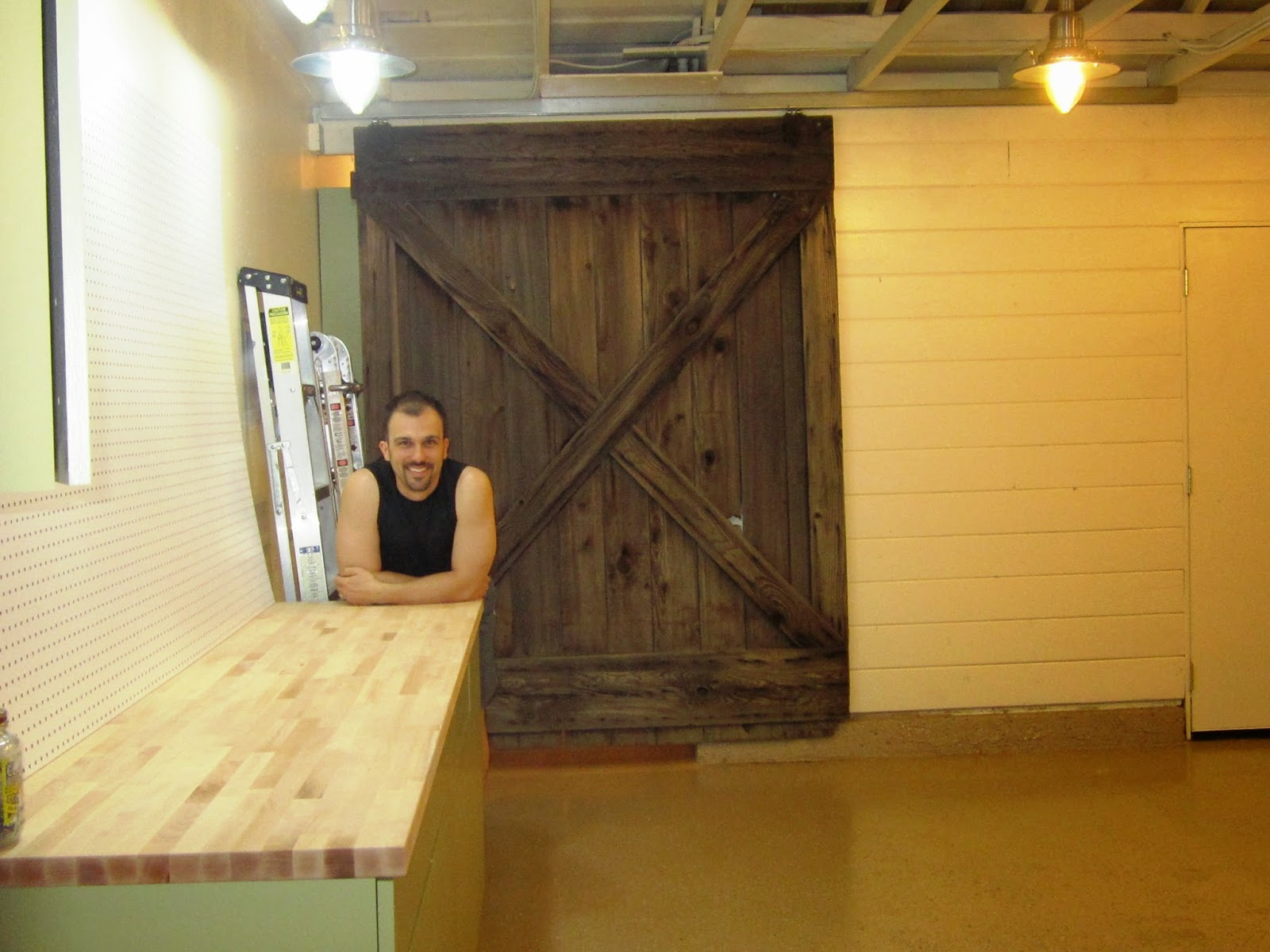 DIY Dithering : Wood Paneling in a Garage: Loss of a man ...