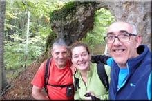 Peña El Arco - La Balzarra mendiaren gailurra 1.005 m. -- 2017ko irailaren 30an