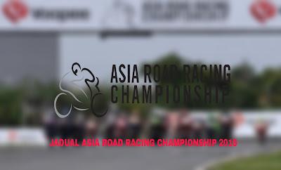 Jadual ARRC 2019 Asia Road Racing Championship