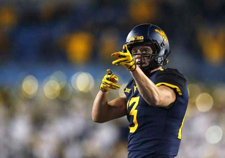 David Sills NFL Draft Projection: Latest on West Virginia WR's Stock