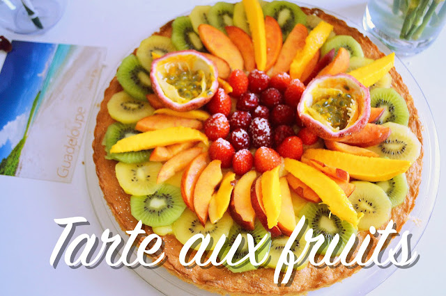 Tarte aux fruits frais rapide