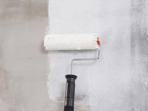 Pinturas de casa preparação das parede