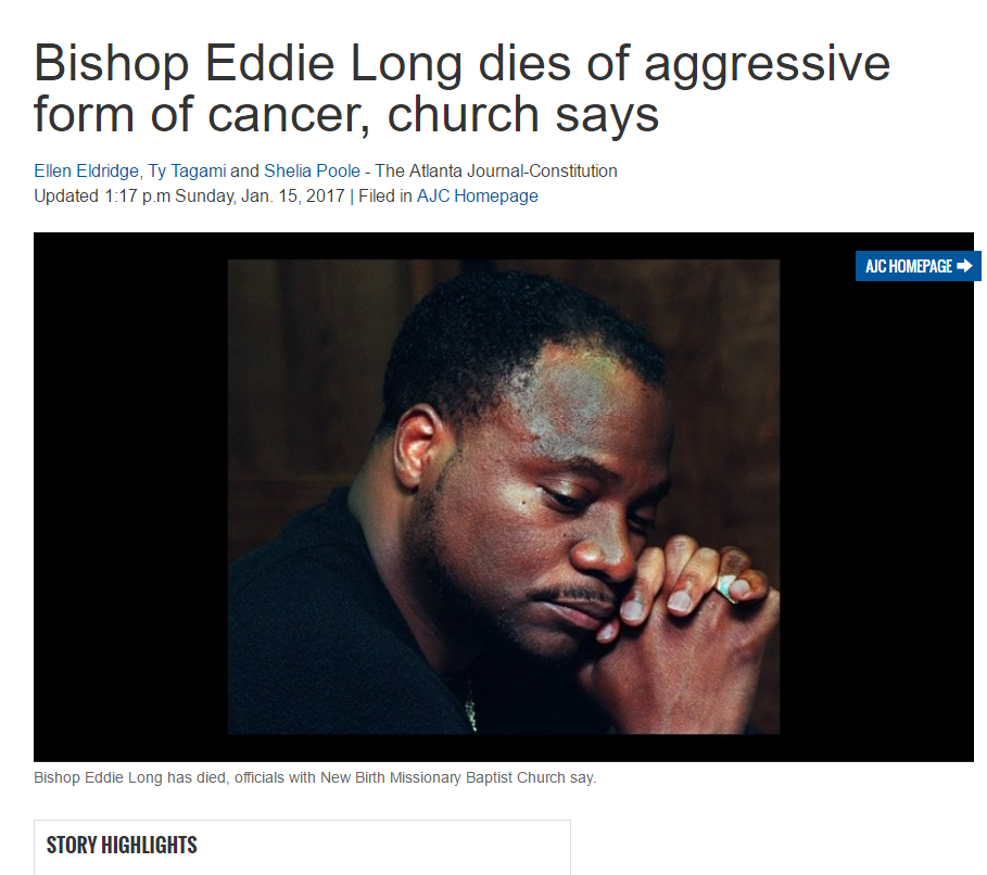 long eddy gay singles Bishop eddie long of new birth missionary baptist church in georgia is being accused of having had an abusive gay relationship with a teen in a new book published earlier this week.