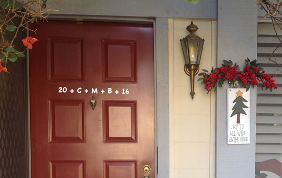 Chalking the Door Blessing Your Home for Epiphany & Three Rivers Episcopal: Chalking the Door: Blessing Your Home for ...