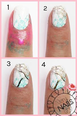 marble-nails-paso-a-paso-foil