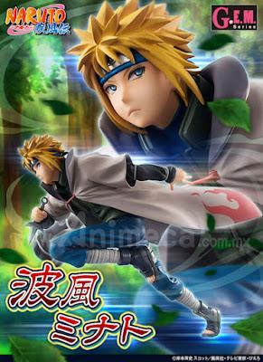 Figura Minato Namikaze Cuarto Hokage G.E.M. Edición Limitada Naruto Shippuden