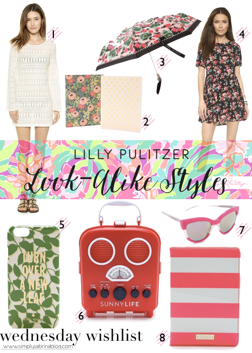 LILLY FOR TARGET SOLD OUT – LOOK ALIKES STYLES