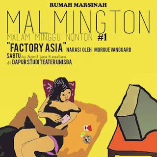 Poster Pemutaran Film Factory Asia