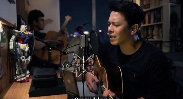 Lirik & Chord / Kunci Gitar Lagu Moshimo Mata Itsuka Ariel Noah ft Nidji, Mungkin Nanti Versi Jepang