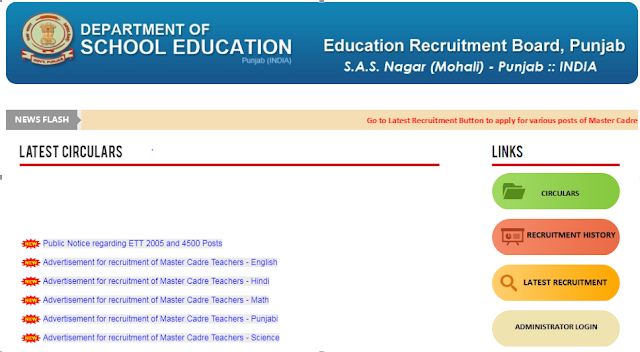 Department of school education