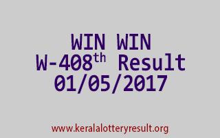 WIN WIN Lottery W 408 Results 1-5-2017