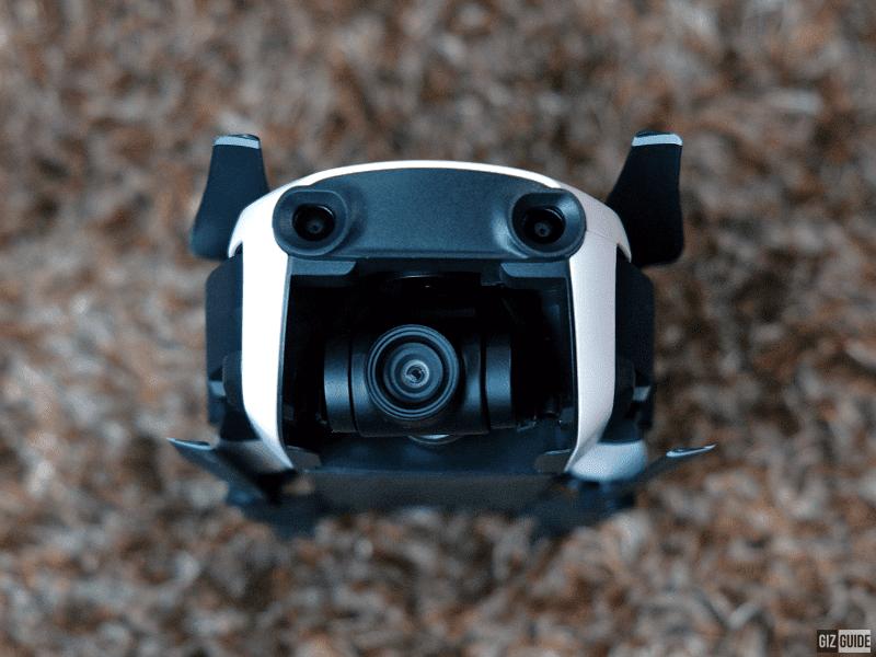 Two guidance sensors and the 4K gimbal camera