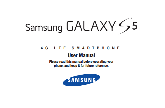 Samsung Galaxy S 5 Manual (U.S. Cellular)