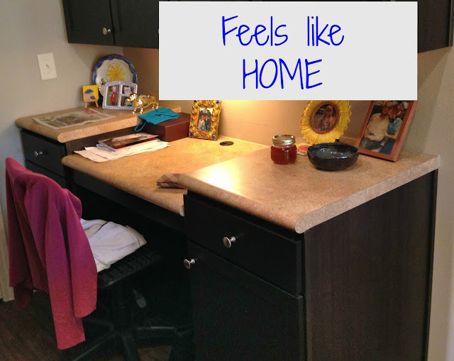 Kitchen Built in Desk