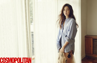 Lee Ji Ah Cosmopolitan March 2016