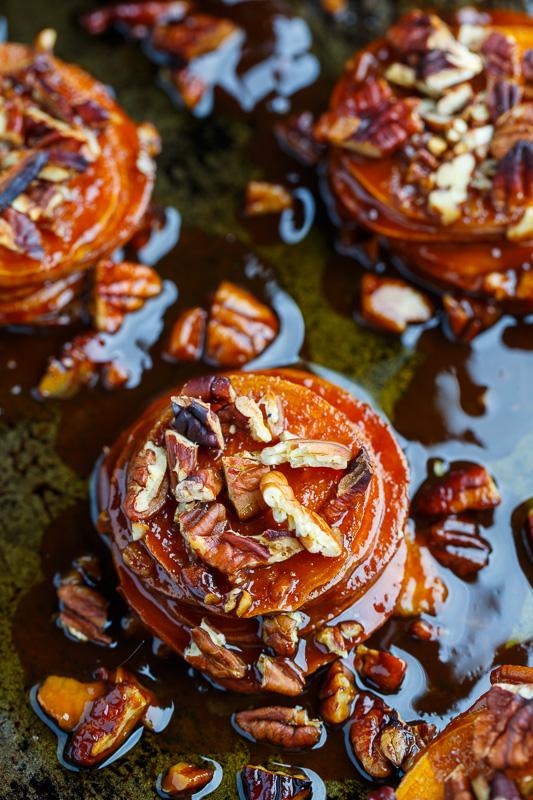 Muffin Pan Maple Pecan Sweet Potato Gratins on Closet Cooking