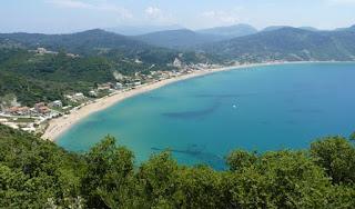 Playa Agios Georgios, Corfú.