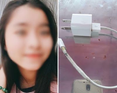 girl electrocuted apple iphone charger cable
