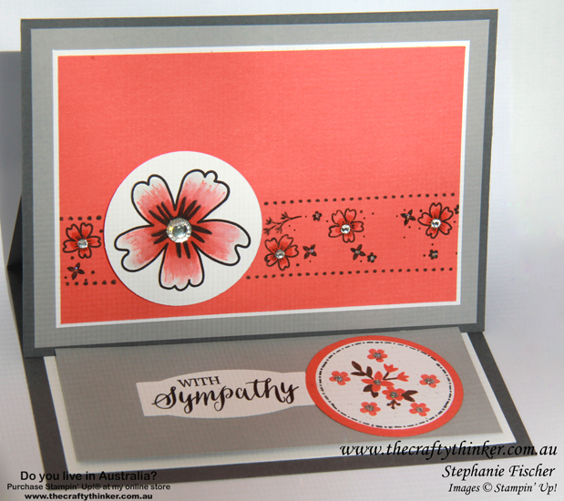 SU, Sneak Peek, new catalogue, Love & Affection, Mixed Borders, Horizontal Easel Card, fun fold