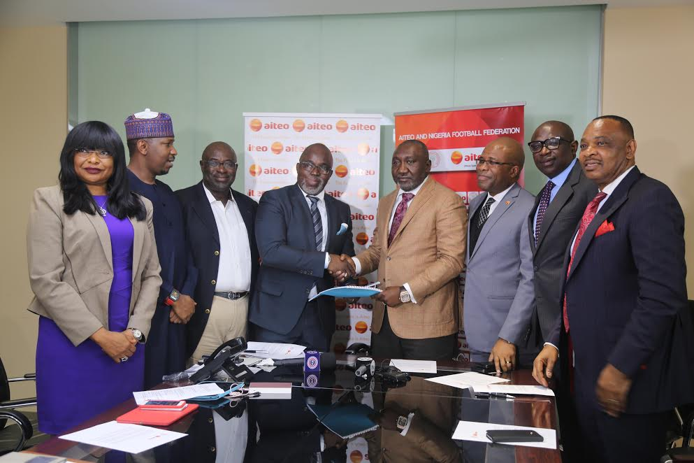 AITEO extends partnership with NFF as Federation Cup becomes AITEO Cup