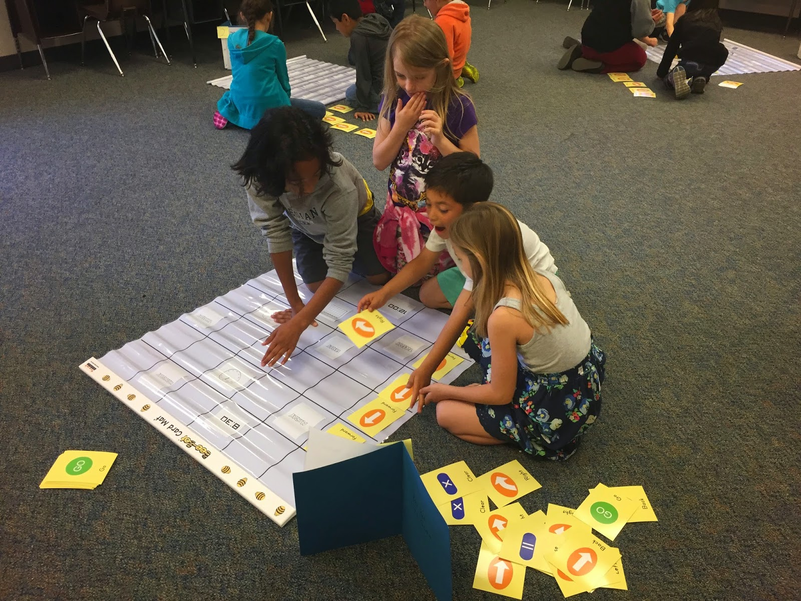 STEAM Ideas: Bee-Bots in Second Grade