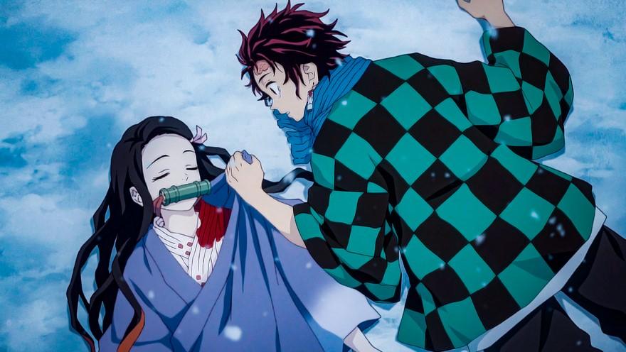 Nezuka and Tanjirou