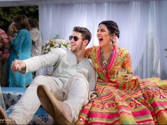 Stunning photos from Nick Jonas and Priyanka Chopra's star-studded wedding ceremony in India