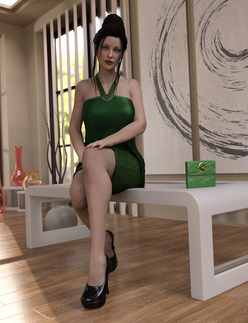 Felicity Outfit for Genesis 8 Female
