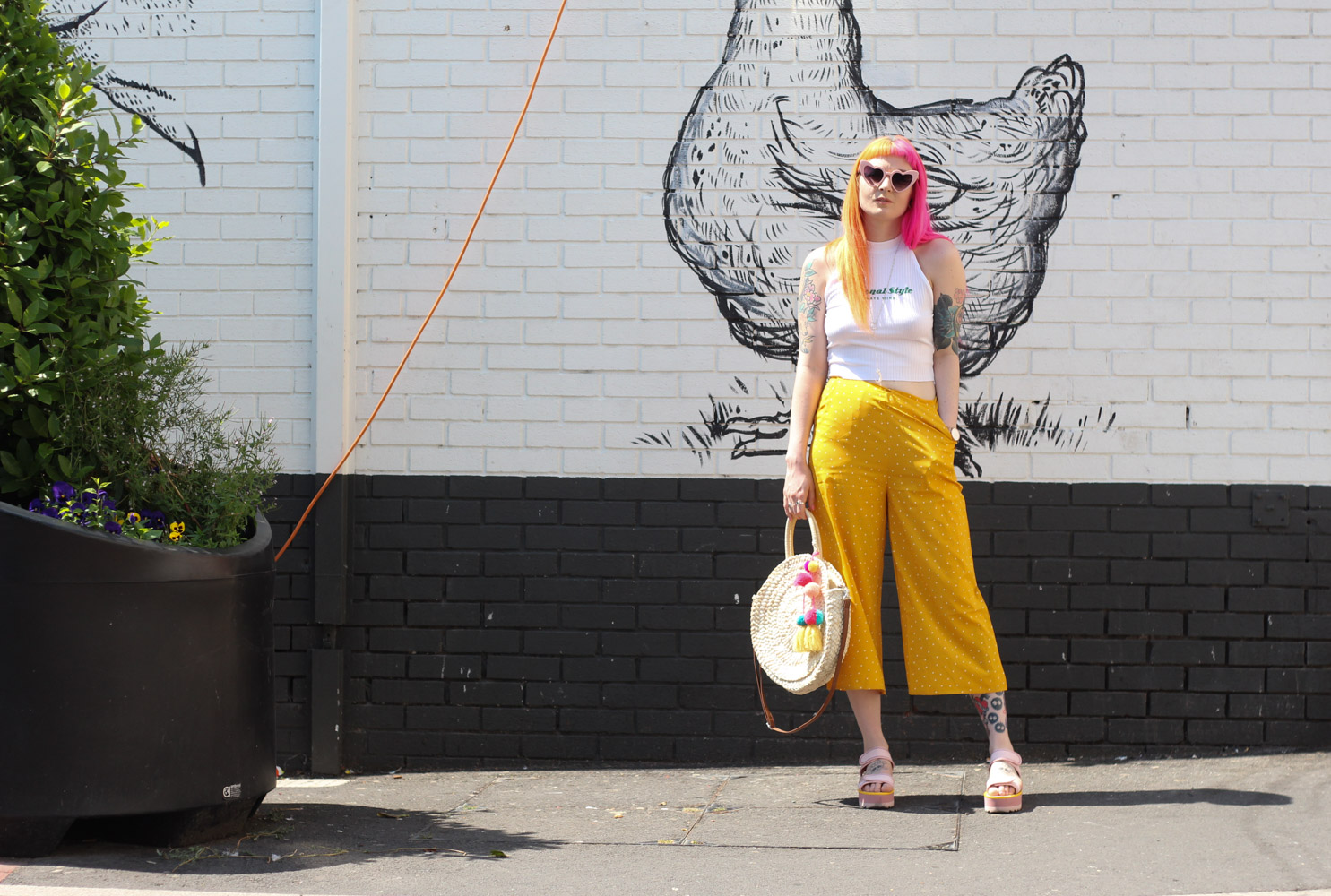 Alternative Fashion Blogger Foxxtailz Styles Joanie Culottes